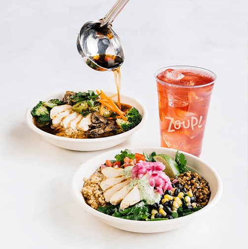 Zoup! Eatery Broth and Grain Bowls with a Craft Beverage